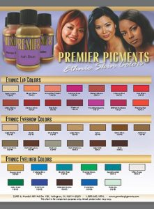catalogue for ethnic skin pmu