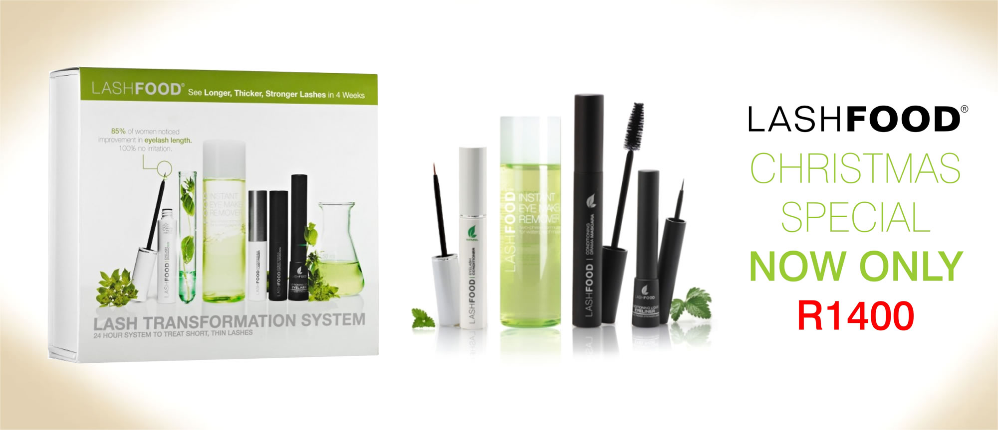 Lash food, lash growth serum